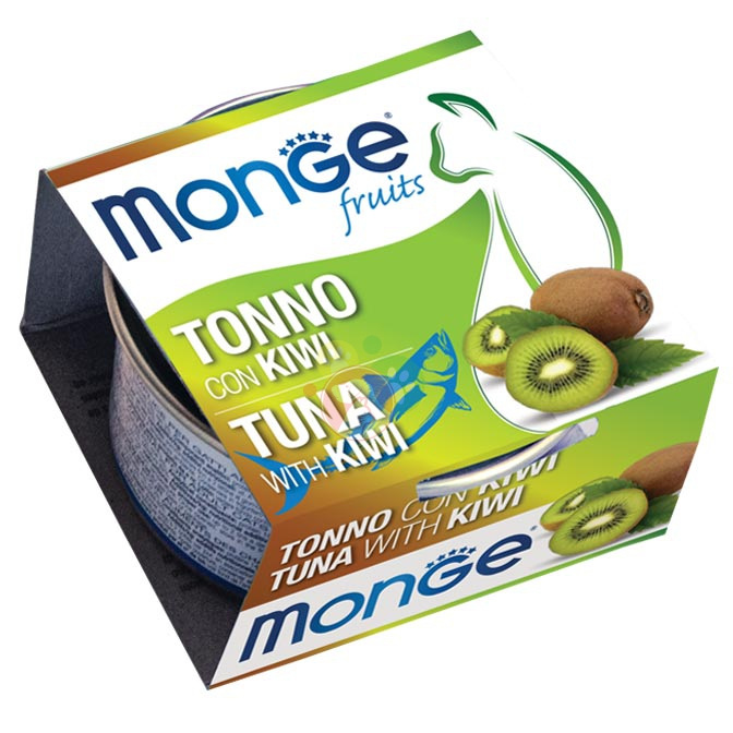 Monge Fruits Tonno Con Kiwi Lattina Da 80g Gatti Adulti