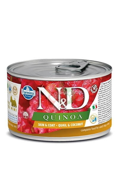 Farmina N&D Quinoa Quaglia e Cocco Lattina Da 140g Cani Adulti