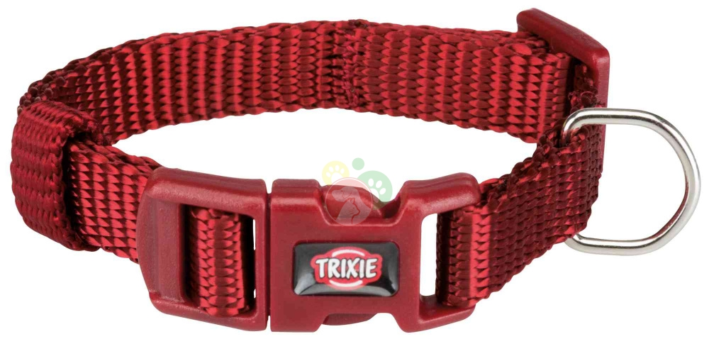 Trixie Premium Collare Bordeaux XXS-XS 15-25Cm/10mm