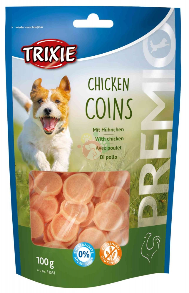 Trixie Premio Chicken Coins 100g